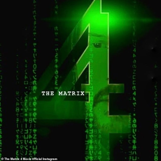 Original eye: The Matrix 4 was co-written, directed and produced by Lana Wachowski, who co-directed and co-wrote the three previous films with her sister Lilly Wachowski