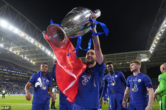 Ziyech won the Champions League at Chelsea but has largely endured a frustrating campaign