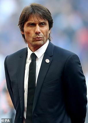 Tottenham talks with Antonio Conte (pictured) ended after Daniel Levy rejected his 'unrealistic' demands
