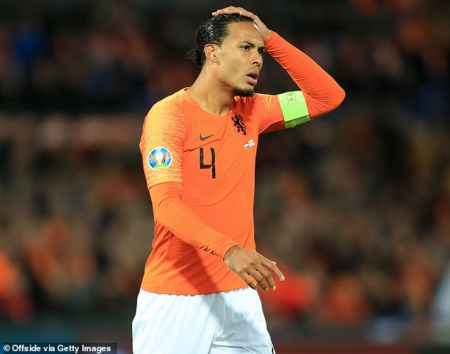 The Dutch captain has not returned to fitness in time after rupturing his crucial knee ligament