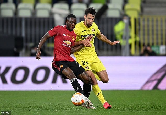 Ole Gunnar Solskjaer is reportedly keen to try Aaron Wan-Bissaka (shown left) at centre back