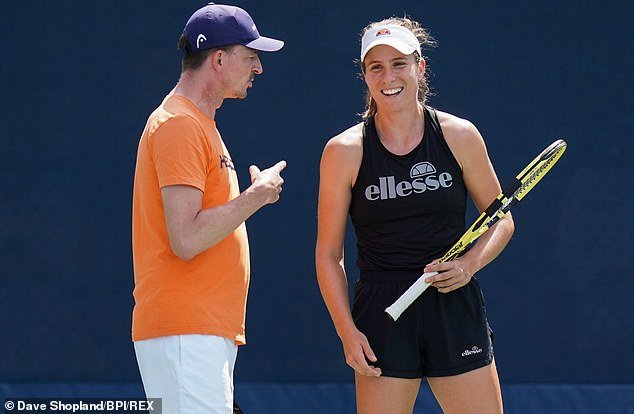 Konta said she parted from Zavialoff 'on very good terms' and is ready for a new direction