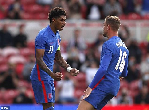 Marcus Rashford scored the decisive goal for England in a narrow-margin friendly victory