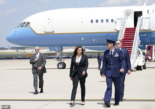 The vice president is heading to Guatemala on Sunday evening for a two-day trip there and to Mexico in her capacity as 'border czar'