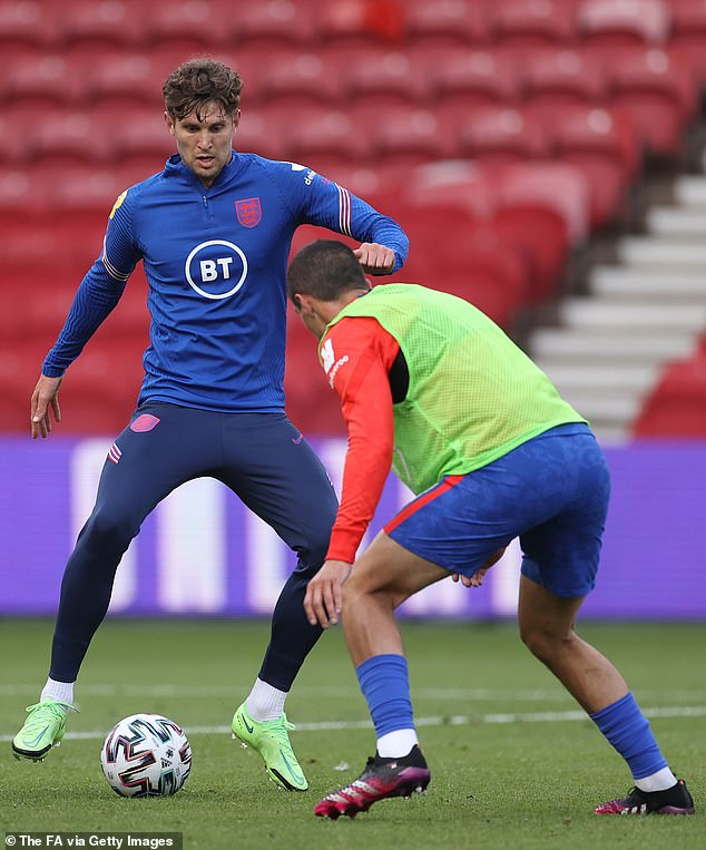 John Stones is among the players from both sides who hope to start next week's opener