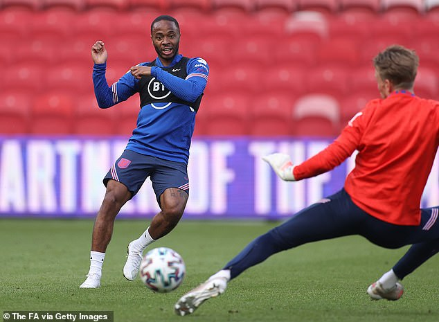 Raheem Sterling is one of England's more experienced players heading into Euro 2020