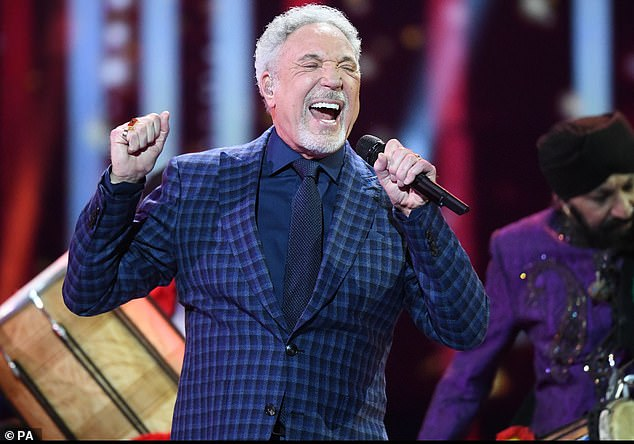 Age is just a number:Sir Tom Jones has said the days where fans would throw underwear at him are long gone, but insists he doesn't feel his age ahead of his 81st birthday on Monday