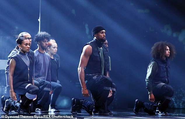 Shortlist: Diversity's controversial BGT Black Lives Matter routine (pictured) was nominated for theBAFTA Television Awards 2021's Must-See Moment award