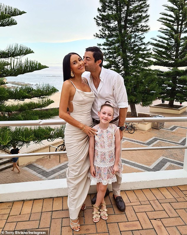 Mom and dad: The couple - who married in 2012 - are a loving parent to seven-year-old daughter Azura