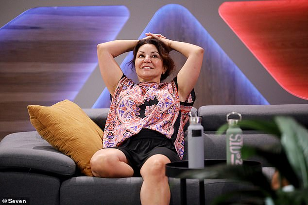 'They gunned the mob mum down!'On Monday night's episode of the reality TV show, Marley was left gobsmacked when his good friend Mary Kalifatidis (pictured here) was voted out of the house