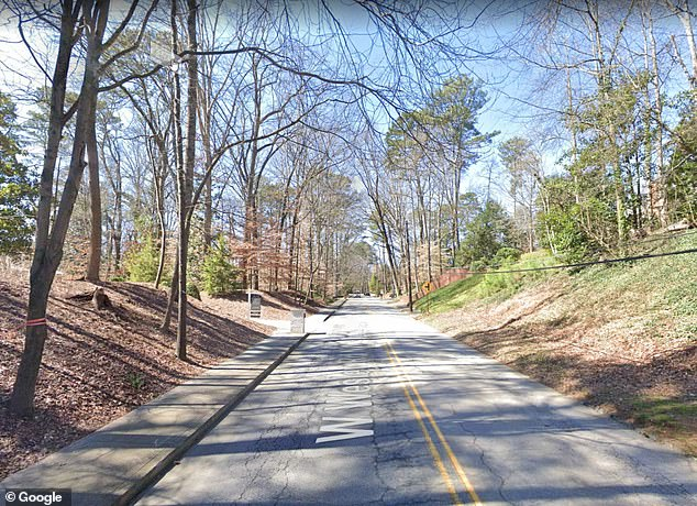 Worrell was a mile into his regular 3-mile run on West Wesley Road in Buckhead, Atlanta, on Saturday when a silver sedan drove up to him, and a man pointed a gun at him and fired