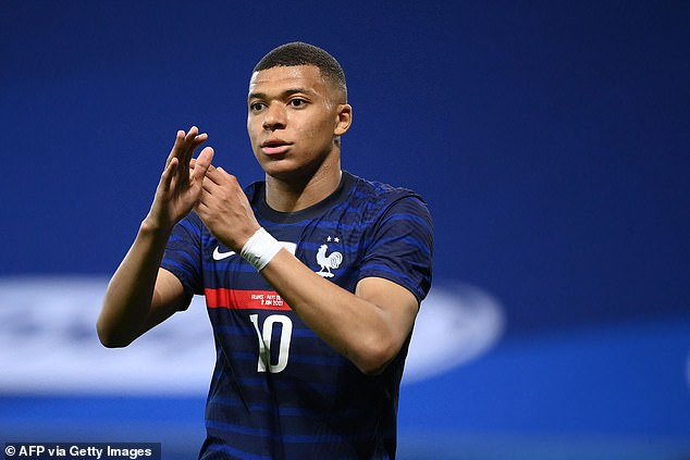 Kylian Mbappe can only make 12th on the list, with his PSG contract expiring next summer