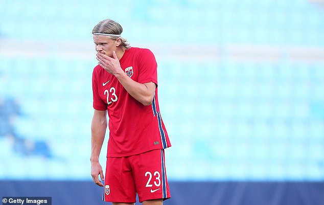 Erling Haaland is fourth on the list, with the Dortmund star said to be valued at a huge £133m