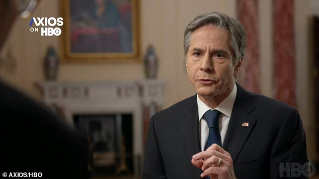 Secretary of State Tony Blinken warned that Vladimir Putin will have to answer for the ransomware attacks on US companies