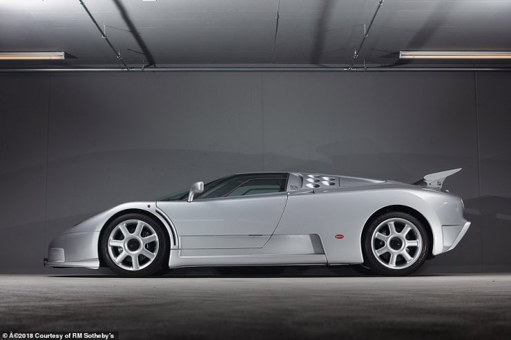 The EB 100 Super Sport featured a V12 turbocharged engine that delivered more than 602bhp and set multiple records in the 1990s, including a record speed of 218mph