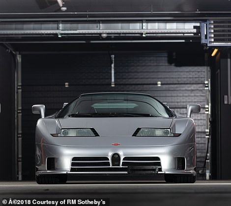 This 1994 Bugatti EB110 Super Sport is one of just 30 made