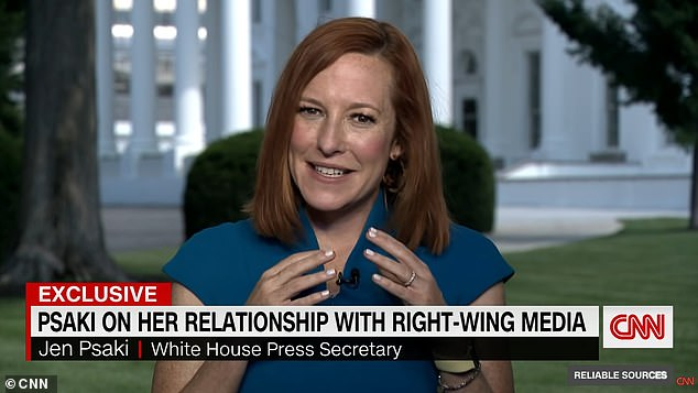 Stelter opened Sunday's interview by asking Psaki 'what does the press get wrong when covering Biden's agenda?'