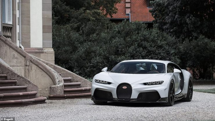 Bugatti developed a new chassis specifically for the Chiron Super Sport¿s high speeds and new aerodynamics