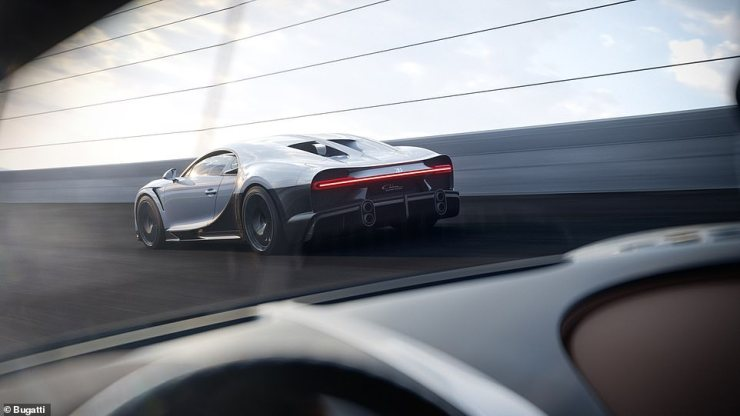 At £3.3million, the Chiron Super Sport is just a fraction of the price of the most expensive car in the world - the Roll-Royce Boat Tail that was revealed in May