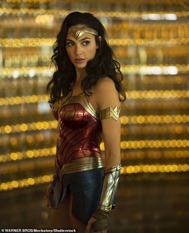 Royalty: Gadot told Vanity Fair she wanted to depict a 'compassionate' Wonder Woman after being inspired by a documentary about Princess Diana