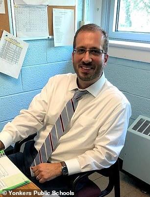 Robert Dodson Assistant Principal Christopher Cassano