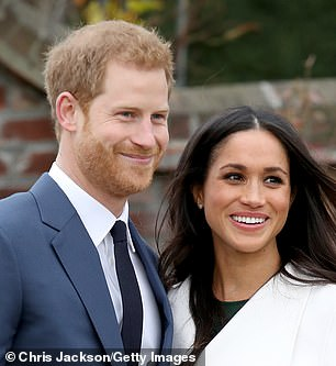 Pictured: Prince Harry and Meghan Markle