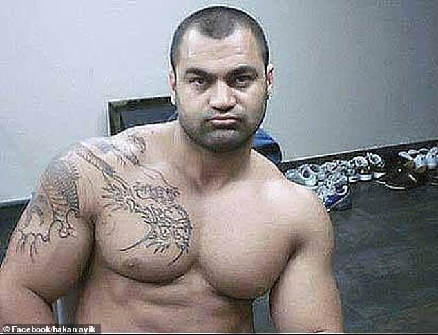 Hakan Ayik (pictured) gave police extensive access to the world's criminal underworld throughencrypted communications app AN0M