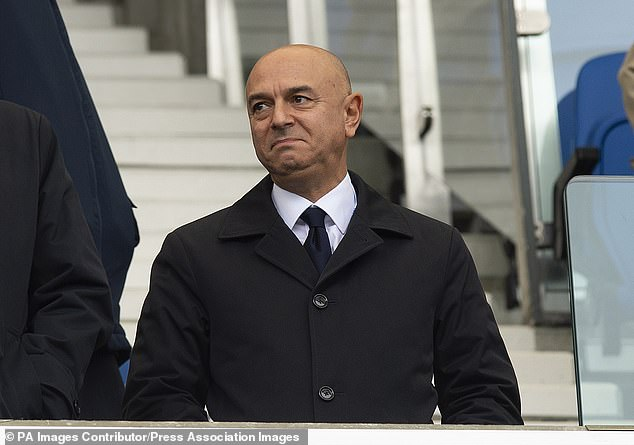 Spurs chairman Daniel Levy is reportedly demanding a cash-only deal for star striker
