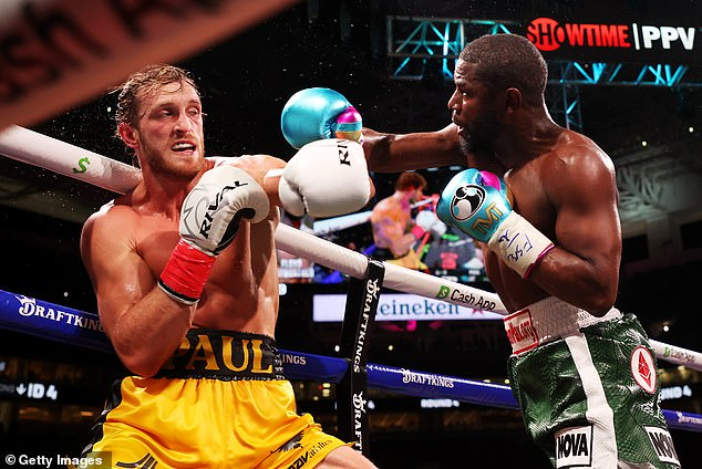Logan Paul says he's 'not too bad' after surviving eight rounds with Floyd Mayweather