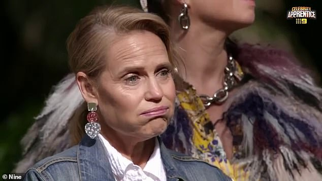 Blindsided: Both contestants and judges were shocked after Martha decided to switch out Shaynna Blaze (pictured) with Josh Gibson
