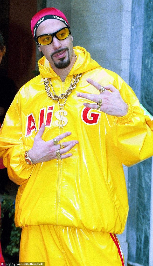 Iconic:Ali G was the comedy persona that launched Sacha on the path to stardom. The satirical character debuted on British TV program The 11 O'Clock Show in the late '90s, before later appearing in the self-titled spin-off Da Ali G Show in 2000
