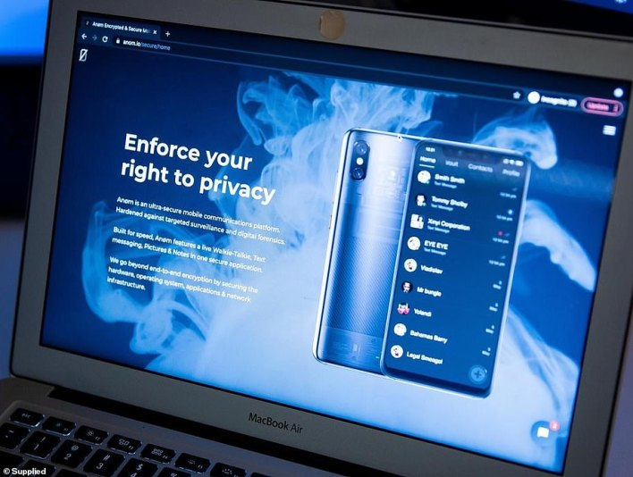 'Enforce your right to privacy': This is how the ANoM website advertised its product - with users not realising that law enforcement officials could read each and every message