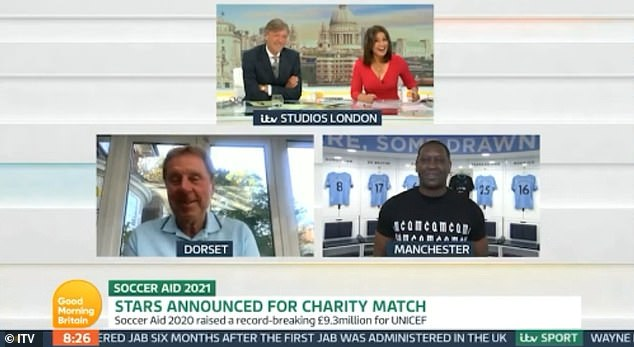 Cheeky!Susanna Reid didn't hold back as she begged Emile Heskey to give her beloved Crystal Palace FC a shout out on Tuesday's episode of Good Morning Britain