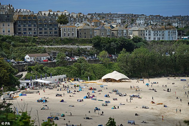 Staycation: Britons have embraced staycations as international travel has been restricted