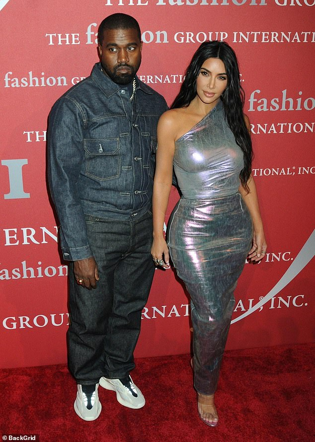 When they were in love:This year has been difficult for the reality star, as she filed for divorce in February from her husband of almost seven years, Kanye West; seen February 19, 2021