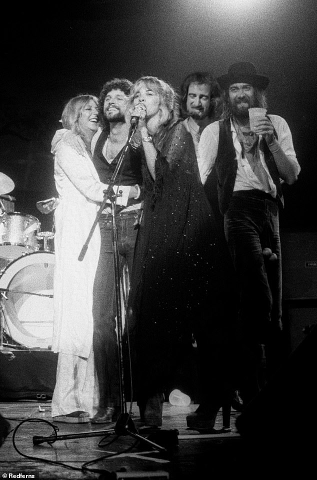 Tight-knit: The Buckinghams basically considered the band, which consisted of members Mick Fleetwood, Lindsey's ex Stevie Nicks, and Christine and John McVie, family, and their children even called the musicians their aunts and uncles