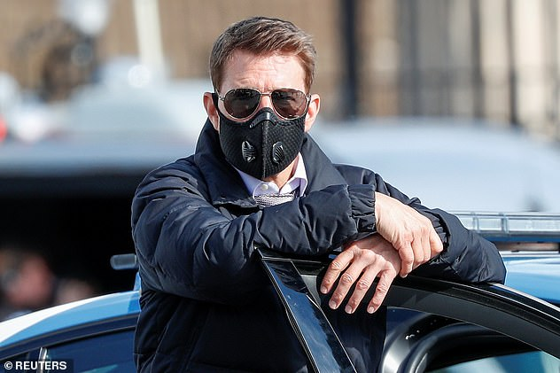 Trespassers:It comes after Tom reportedly had to call security to deal with trespassers breaking into the huge Mission: Impossible 7 set in Yorkshire