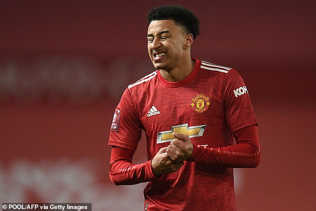 Lingard was exiled by Manchester United before joining the Hammers on six-month loan deal