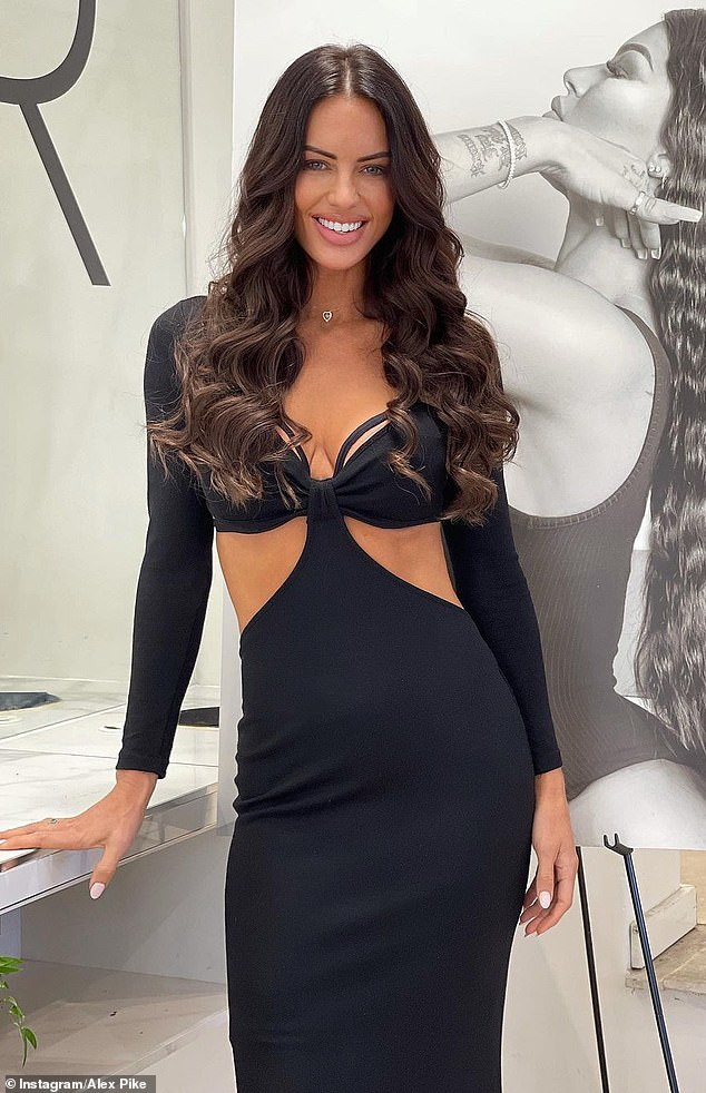 Revealed:The telling sign Nathan Buckley's glamorous new girlfriend Alex Pike, 44, (pictured) has been accepted into Australia's WAG social circle