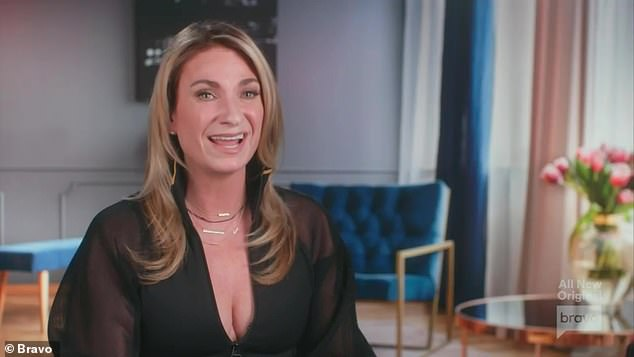 Sage advice:Heather said in a confessional that Luann needs to 'strip the ego and listen to someone else's perspective'