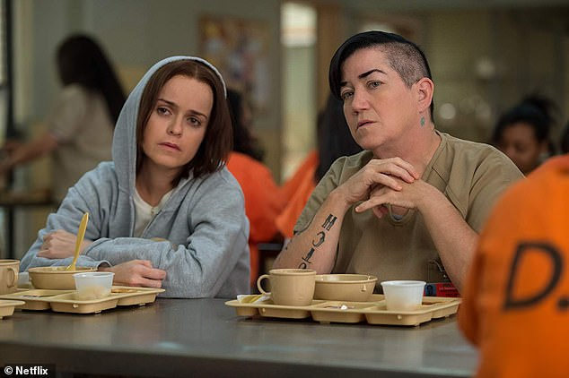 Eased:DeLaria mentioned that the harassment has eased up in more recent years, likely in part due to her role as Carrie 'Big Boo' Black on Orange Is the New Black