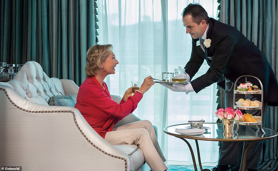 Call the butler on a small ship cruise with Silversea, Uniworld (pictured) or Avalon