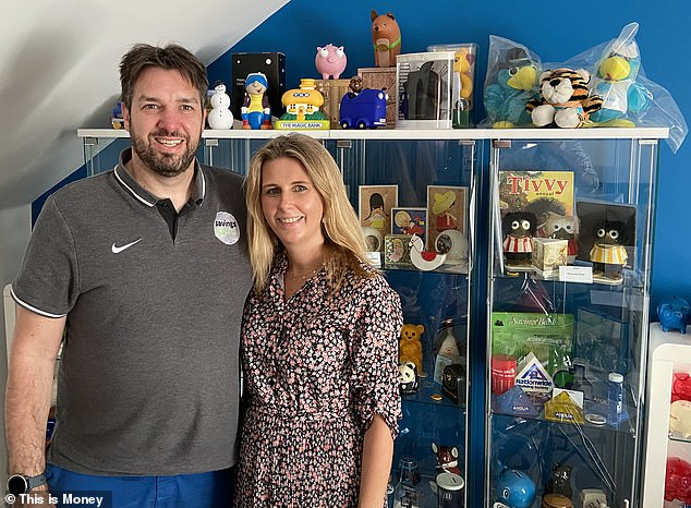 The project is a collaboration between savings bank consultant James Blower and hisfiancée TanyaBurrage, who has more than a decade of experience in the museum industry