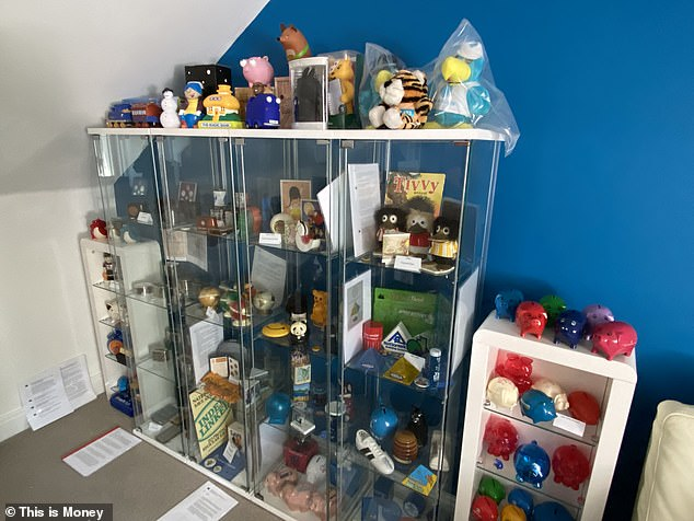 James and Tanya are looking for a bigger space to house their collection, rather than leaving it in their attic