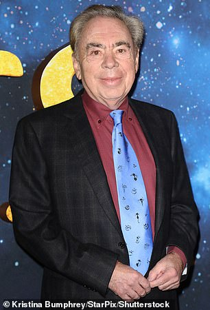 Andrew Lloyd Webber (pictured) is right to expect theaters to reopen next month, suggests a study