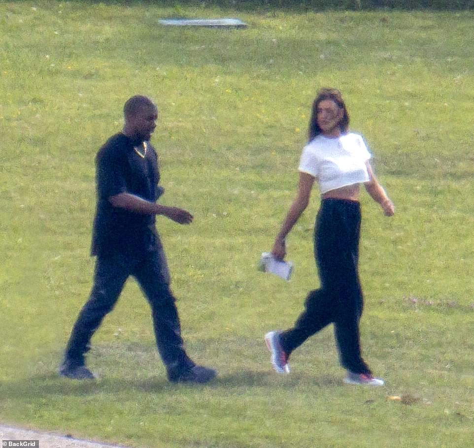No strangers:Irina and Kanye are certainly no strangers to one another, having been connected for more than a decade