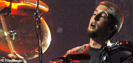 Rocker: 2007 was also the year Shayk started dating Linkin Park drummer Rob Bourdon