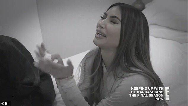 The end:In last week's episode of Keeping Up With The Kardashians, Kim finally admitted that her marriage to Kanye was over in the penultimate episode
