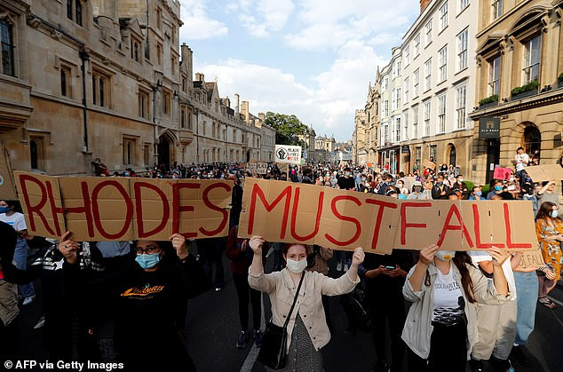 One senior don told the Daily Mail: 'This is despicable and mean-minded. It is unprecedented for the head of one college to attack and detract from the teaching of students at another college. This is politics based on ignorance and bias, and should have nothing to do with Oxford or any other university, where the principal aim should be to educate students and not damage their learning through left-biased agitation'