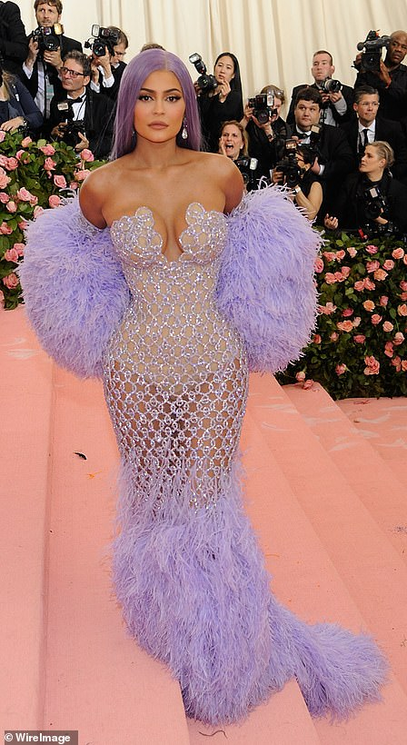 Stunning: Kylie looked incredible at the Met Gala in 2019
